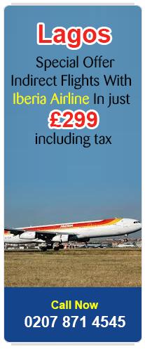 cheap flights to Lagos